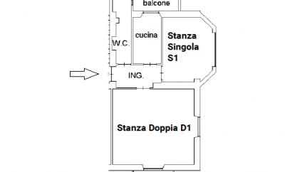 Stanze Via Pascoli 2